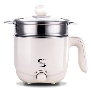 110V mini-fogão eléctrico fogão portátil de viagem para estudantes vão para o estrangeiro 1.5L Hot Pot ovos cozidos no vapor guisado sopa de mingau 017