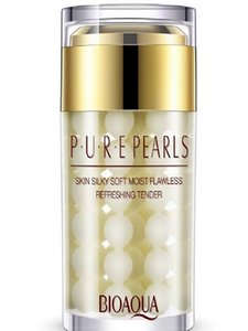 Wholesale high quality Pure Pearl Cream Deep Moisturizing Essence Cream Face Care 60g Free shipping