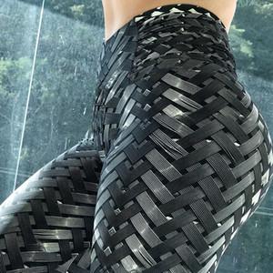 Исцели ORANGE новые печати спортивные леггинсы спорт фитнес йога брюки леггинсы йога быстро сухой йога штаны спортивные женские брюки капри Booty Y200529