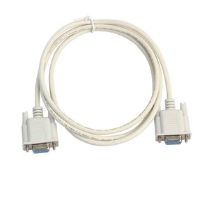 Serial RS232 Null Modem Cable Female to Female DB9 FTA Cross Connection 9 Pin COM Data Cable Converter PC Accessory 3m