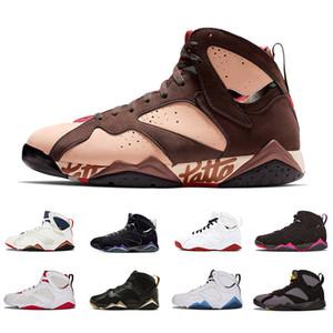 Новый Patta X 7 Ray Allen Olympic 7s мужская дышащая баскетбольная обувь Бордо Заяц GMP синий мужская Raptor спортивные кроссовки 41-47