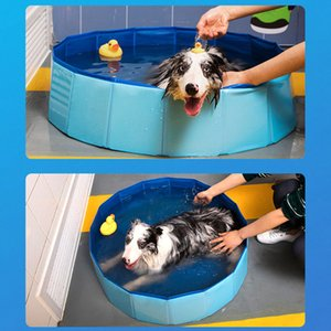 5 Sizes Dog Pool 1pc Foldable Dog Pool Pet Bath Swimming Tub Bathtub Outdoor Indoor Collapsible Bathing for Dogs Cats Kids