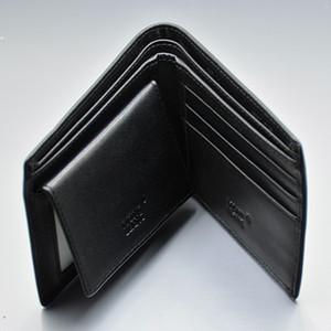 Promotion - Престижное MB Wallet Топ черный натуральной кожи кредитных карт Ключницы высокого качества Запонки для рубашки Человек Запонки с оригинальной коробке