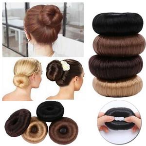 Cheap Braiders New Hot Fashion Elegant Women Ladies Girls Magic Donut Hair Ring Bun Maker Hair Styling Tools Accessories Wig Ponytail