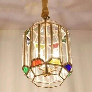 Cobre Moroccan Lantern Chandelier Quarto Sala de Estudo Chandelier