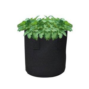 Tessuto impianto Crescere Borsa per verdure piantare alberi Bag durevole verde semenzale della scuola materna del sacchetto Nutrizione Grow Flower Pot ispessito