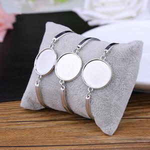 4 colori di sublimazione braccialetti vuoti per le donne di Modo Caldo di stampa di trasferimento dei monili del braccialetto fai da te di consumo Nuovo arrvial