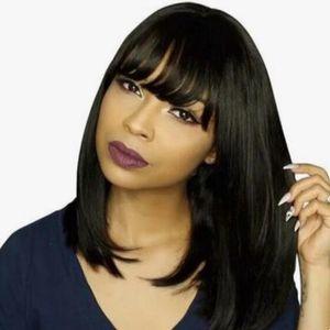 Human Hair Wigs Bob Wig Human Hair For Black Women Brazilian Straight Human Hair Wigs Dorisy Non Remy 10-16 Inch