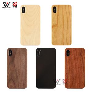 Amazon Top Seller 2019 Echt Blank Holz-Handy-Abdeckung Fall für iPhone 6 7 8 Plus X XR XS Max