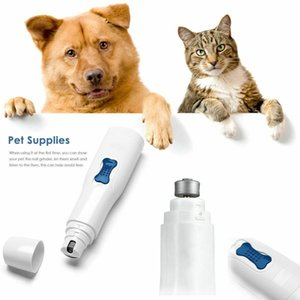 Electric Pet Nail Grinder Claw Grooming Trimmer Dog Cat Paws Clipper Tools Kits nail grinder pet supplies pet nail trimmer
