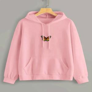 Instagram Sweatshirt Long-sleeved Pullovers Hoodies Women's Clothing Designer Serbian Fashion Street Style 2020 Spring Outdoor Y200706