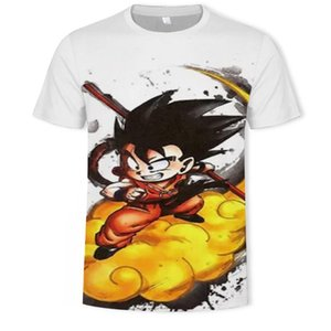 manga z Son Goku Anime Summer 3D Print 2020 Newest Fashion Tee Tops Men   Boys Cartoon Casual T Shirt