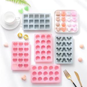 Semplice gel di silice Chocolate Mold self-made di ghiaccio facile da togliere muffa del ghiaccio della muffa di cottura biscotto forniture di cucina creativa T9I00323