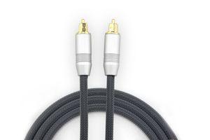 Cavo adattatore Toslink digitale via cavo in fibra ottica audio 1m 2m 3m per la TV Blueray PS3 XBOX CD DVD Mini Disc AV