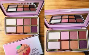 Nova em estoque Tickled Peach Mini Eyeshadow Faça paleta Up Palette férias Chirstmas 8color sombra DHL transporte livre