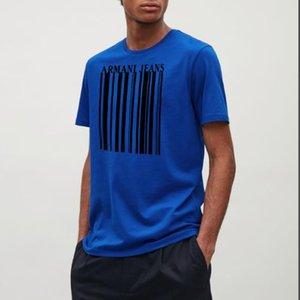 Noir Designer Fashion T-shirt manches courtes lettre de luxe pour hommes design impression célébrité rouge net T-shirt même cotto pur de haute qualité