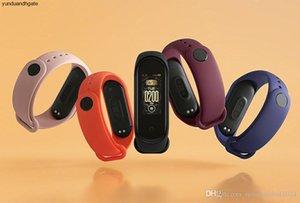 Originalin Auf Original-Xiaomi Mi Band 4 Smart Miband 3-Farben-Schirm-Armband Herzfrequenz Fitness Musik Bluetooth 50m Wasserdicht Band4