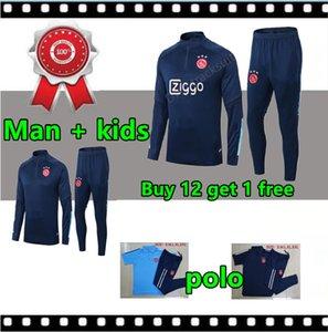 2020 21 남자와 아이들 아약스 축구 훈련 정장 재킷 (20) (21) 폴로 MOUNTAIN HOUSE 성인 남자의 운동복
