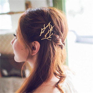 Новый корейский ветка дерева шпильки заколки заколки девушка аксессуары для волос Для женщин головные уборы булавки Accesorios Para El Pelo