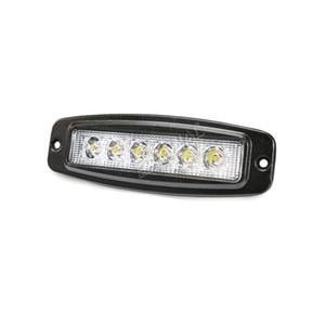 4 stück 18 watt led arbeitslicht bar bündig montieren für 4x4 offroad SUV lkw anhänger fahren scheinwerfer backup einparken lampe