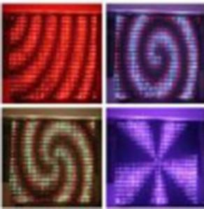 P18 3Mx4M LED القماش قماش DJ الرؤية الستار ، DMX LED رؤية الستار ، عرض مرن ، LED فيديو الستار ، LED DJ المرحلة الخلفيات LLFA