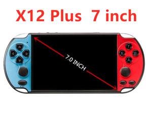 En Yeni X12 Plus Taşınabilir Oyun Konsolu 7 inç ekran Dahili 10.000+ Klasik Oyunlar 16GB Video Oyunu Player X7 PLUS daha büyük