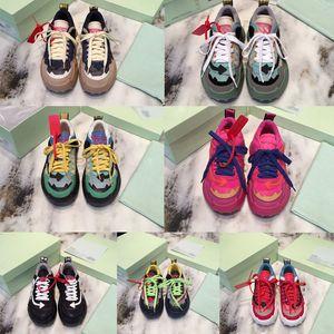 los zapatos de gran tamaño de los hombres zapatos de diseño de lujo de diseño de peso ligero de caucho único 3D WF-1000 ODSY zapatillas de las mujeres zapatos al aire libre calzado informal
