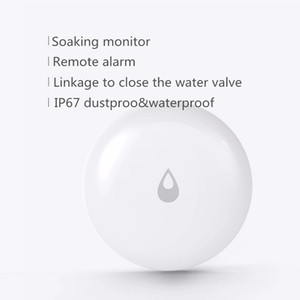 Detector de fugas de agua Xiaomi Youpin Aqara agua sumergiendo sensor de inundación impermeable aplicación inteligente de control remoto Smart Home Seguridad