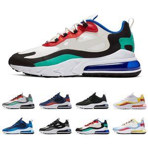 eact Sıcak satış erkekler koşu ayakkabıları tepki en kaliteli üçlü siyah OPTIK BAUHAUS erkek eğitmenler spor sneakers koşu yürüyüş boyutu 40-45