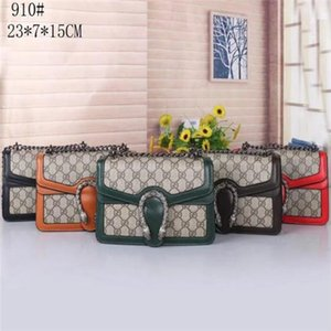 2020 new 5 colors Classic Leather chain hot sell 2020 new women bags handbags shoulder bags tote bags messenger