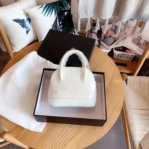 Clássico Couro Palavra Mãe e filha mão do conhecimento de embarque de couro genuíno Handbag Shoulder Bags Shell Pacote de Luxo Mulheres Bolsas
