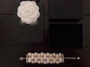 Wide version of pearl woven bracelet jewelry women necklace rings earrings love bracelet mens 14k gold chains cuban link chain 2020 new