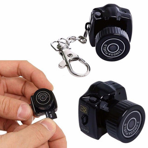 Tiny Mini Camera HD Видео Аудиорегистратор Webcam Y2000 Видеокамера Mell DV DVR Security Security Nanny Car Sport Micro Cam с микрофоном