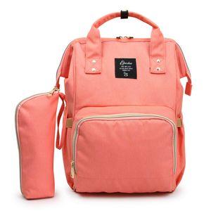 Mommy Backpack Fraldas Sacos de fraldas Oxford pano impermeável Maternidade Mochilas Mãe Bolsas externas Enfermagem sacos novos GGA2179