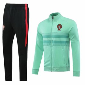 2020 2021 Ronaldo mens jacket CR7 train tracksuits soccer jersey Félix training tshirt Mário football kits national team uniform suits
