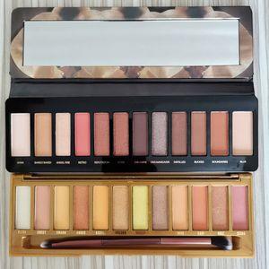 Os mais recentes maquiagem mel Eyeshadow Paletas 12 cores RELOADED Paletas Matte Shimmer paleta Sombra Calor Waterproof mais Brushes DHL