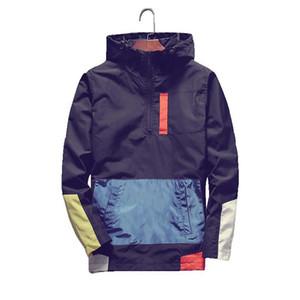 Мужская Бомбардировщик куртки Мужская мода Anorak Hip Hop Streetwear с капюшоном пальто Мужчины Повседневная Baseball Равномерное Куртки Одежда 5XL