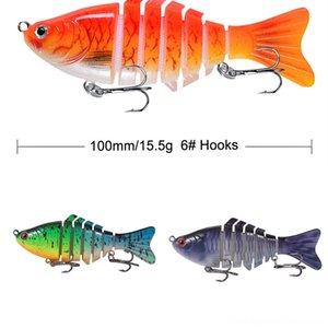 pEPxy # 5555 Luya appât crevettes lumineux bionique faux baitset pêche à l'appât lumineux squid Blackfish doux