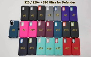 2020 newst Defneder case For Samsung Galaxy s20 s20plus a50 a20 30 S10E S9 S10 note9 Steel Armor TPU PC Covers cases with Belt Clip