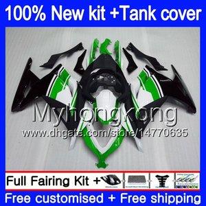 Injektion für KAWASAKI ZX3R EX300 2013 2014 2015 2016 2017 Cool grünen 202MY.15 300R ZX ZX300R ZX3R EX300R ZX300R 13 14 15 16 17 Verkleidungs