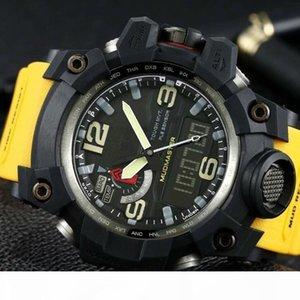 os homens assistir GWG1000 Assista 60 milímetros originais Digital Movimento homens YG esportes fábrica Relógios de pulso impermeável com caixa de aço