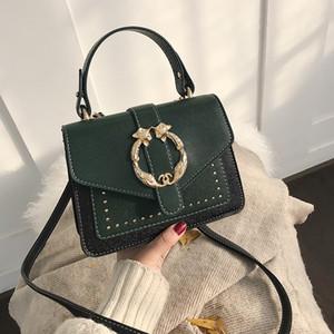 2019 Nuevo estilo Remache Tote Bags Cross body Female Bolsa Sacs Saj new disign bag lairui / 1