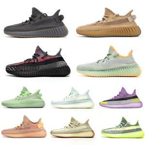 adidas 350 v2 boost kanye west caliente estático mantequilla de sésamo V2 zapatos corrientes de tinte azul semi de la beluga Entrenadores Sport zapatillas de deporte 36-48