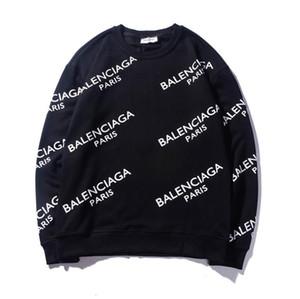 Lüks Erkek Tasarımcı Kazak Hoodie Kazak Süveter Moda Erkekler Kadınlar Streetwear Hoodie Paris Letter İnce Uzun Kollu Boyut M-XXL başında
