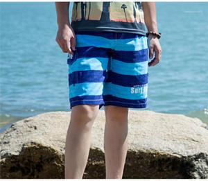 Pantalones para hombre Pantalones de jóvenes hermosas corto y delgado cómodo guapo pantalones de moda para hombre de la playa ocasional de Nueva Deportes