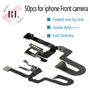 Pour iPhone 7 50pcs 8 7 plus 8, plus léger Capteur de proximité Flex câble ruban + avant face à la caméra