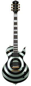 Wylde Audio Odin Grail Gangrene Metallic Green W / Black Bullseye Electric Guitar Ebony Fingerboard، MOP Large Block البطانة، Little Pin Bridge