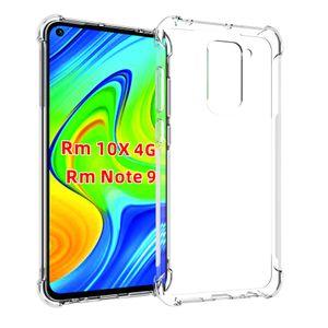 Xiaomi redmi 10X Pro 4G Şeffaf Kılıf Cilt Temizle redmi 9 Yumuşak Jel TPU Silikon Xiaomi redmi Not 9 Pro 9s Koruma darbelere dayanıklı Kapak İçin