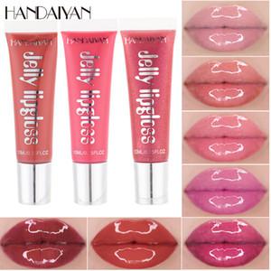 HANDAIYAN Wet ciliegio lucido Rimpolpante Lip gloss Lip Plumper trucco Big Lip Gloss idratante Plump Volume lucido vitamina E olio minerale DHL