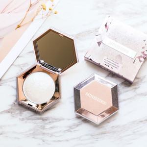 Diamante de resaltado de maquillaje facial bronceadores paleta resplandor de la cara de contorno Shimmer Powder base del cuerpo iluminador de resaltado Cosméticos